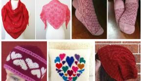 Valentine's patterns from LoveKnitting designers!