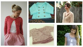 FREE Easter cardigan knitting patterns for babies and adults - get them at LoveKnitting!
