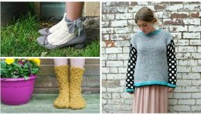 Patterns by Loveknittng designer Emma Wright - get them today!