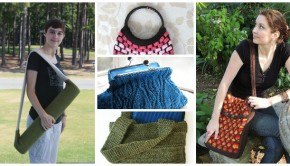 5 bag knitting patterns from the LoveKnitting independent designers