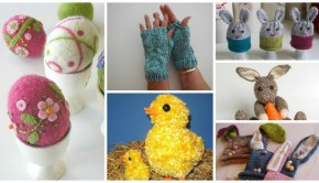 6 Easter knitting patterns by our LoveKnitting Independent Designers!