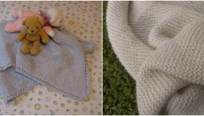 2 FREE baby blanket knitting patterns - download at LoveKnitting!
