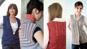 4 fabulous vest knitting patterns - download at LoveKnitting!