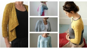 Knitting patterns by Heidi Kirrmaier, available to download at LoveKnitting!