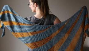 Quicksilver shawl by Melanie Berg
