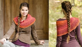 FREE lace detail shawl by Zuazsa Kiss - download at LoveKnitting!