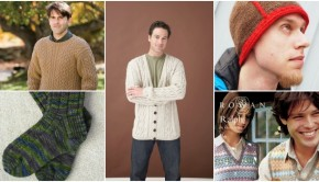 Top 5 free patterns for Father's Day - read more on the LoveKnitting blog!