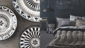Monochrome home inspiration, with free patterns and more! Read more on the LoveKnitting blog.