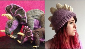 Top 5 dinosaur knitting patterns - read more at LoveKnitting!