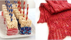 Inspiration station: patterns in red, white, and blue!