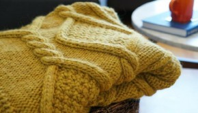 blanket knitting pattern by Kate Bostwick
