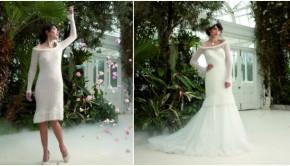 Rowan Swarovski wedding dress