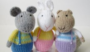 Fluffy, Sniffles and Squeaker by Amanda Berry
